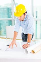 Engineer at work