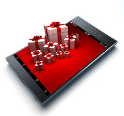 Smart phone and gifts