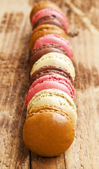 Macarons Placed Over Each Other
