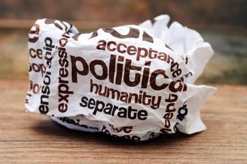Destroed  politic