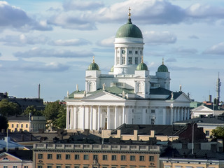 Helsinki Cathedral in Finland