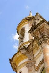 Torre da igreja de São Francisco de Assis em Ouro Preto