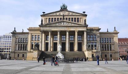 The Konzerthaus at the Gendarmenmarkt