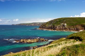 Portheras Cove Cornwall Uk