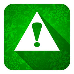 exclamation sign flat icon,  warning sign, alert symbol