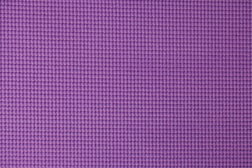 Purple yoga mat texture background