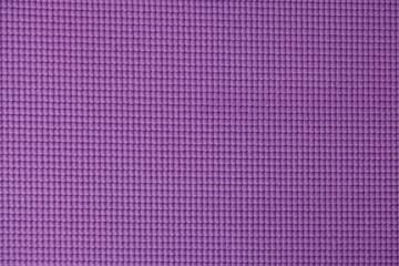 Purple yoga mat texture background