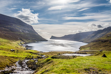 Landscape in Faroe Islands