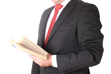 Man wearing a business suit