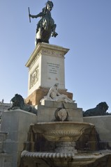 Memorial Monument to the Spanish King Philip IV