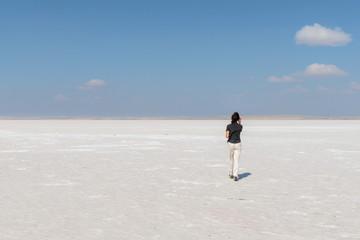 Turchia, lago di sale