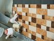 Laying Ceramic Tiles.