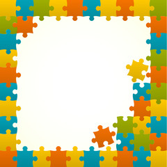 Colored Puzzles frame.