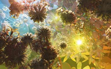 Un univers de fleurs