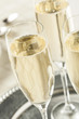 Alcoholic Bubbly Champagne for New Years - 74157201