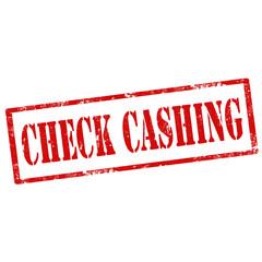 Check Cashing-stamp