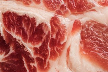 Background texture of marbled meat