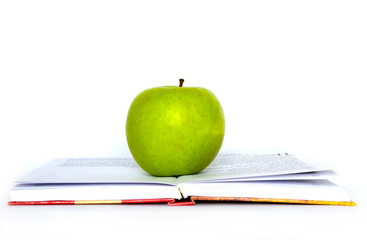 apple and books
