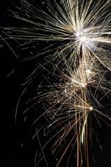 Feuerwerk rahmen rechts