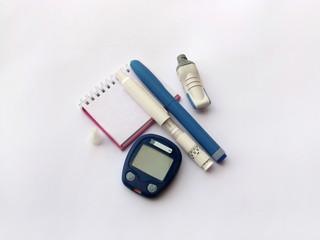 diabetes equipment and agenda