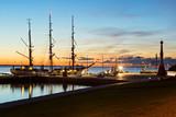 Marineschiff Gorch Fock legt an – Bremerhaven