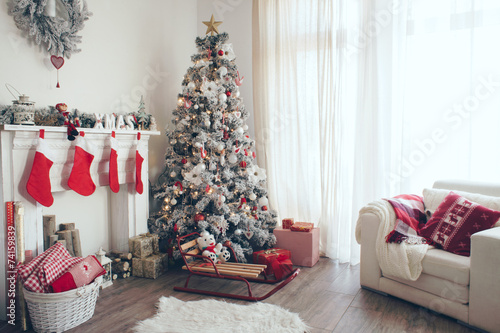 Christmas tree - 74159839