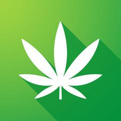 marijuana  long shadow icon