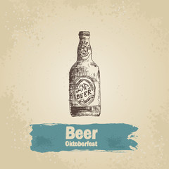 Oktoberfest vintage background