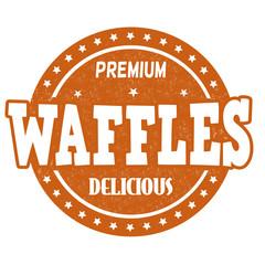 Waffles stamp
