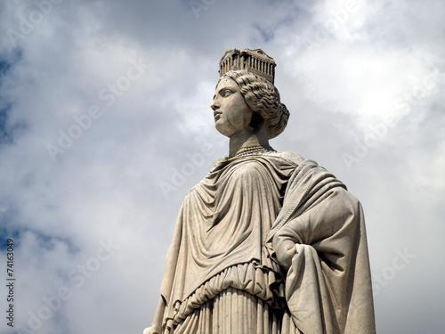 Fotobehang Fontaine Fontaine Pradier à Nîmes