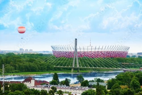 Soccer stadium in Warsaw - 74163064