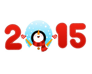 2015 Snowman