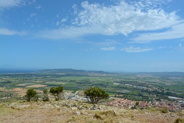 View from Montgri castle