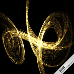 Creative abstract futuristic background. Vector illustration.