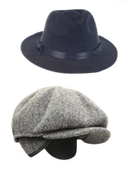 peaked cap and hat