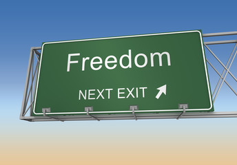 freedom sign