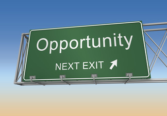 opportunity sign