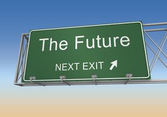 the future sign