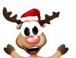 Super Happy Christmas Reindeer
