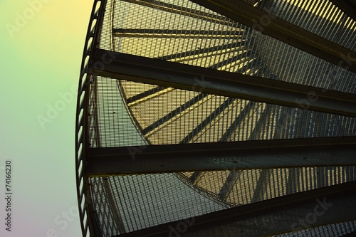 canvas print picture Stairs
