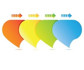 colorful bubble diagram