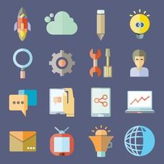 web start up icons