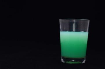 Green Liquid Glass