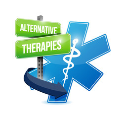 alternative therapies medical symbol