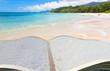 canvas print picture - les Seychelles à livre ouvert