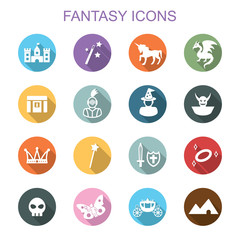fantasy long shadow icons