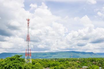 Telecommunication Radio Antenna.
