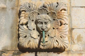 Dubrovnik. Street fountain.