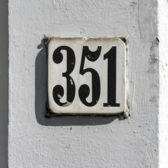 Number 351