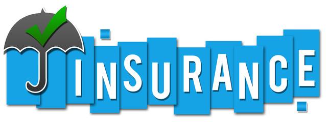 Insurance Blue Stripes